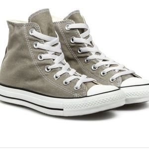 Converse CT Old Silver High Top Sneakers, sz 8